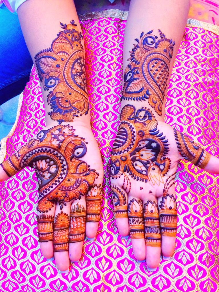 Stylish mehndi in Agra